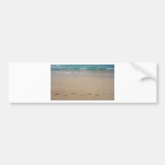 tropical paradise bumper sticker