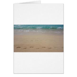 tropical paradise card