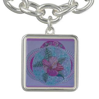 Tropical paradise charm bracelets
