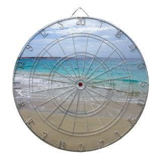tropical paradise dartboard