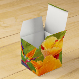 Tropical Paradise Favor Box