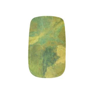 Tropical Paradise Fingernail Nail Art