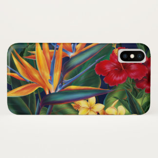 Tropical Paradise Hawaiian Floral Case-Mate iPhone Case