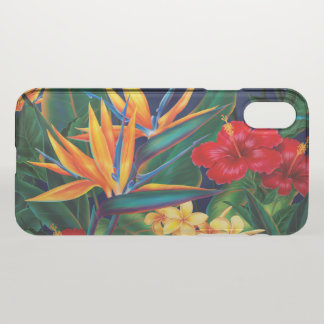Tropical Paradise Hawaiian Floral iPhone X Case