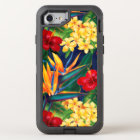 Tropical Paradise Hawaiian Floral OtterBox Defender iPhone 8/7 Case