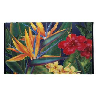 Tropical Paradise Hawaiian iPad Folio iPad Folio Cases