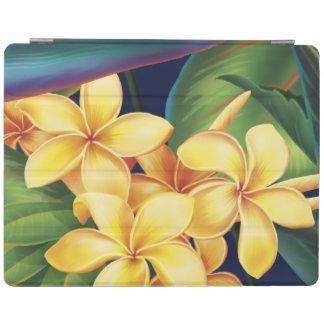 Tropical Paradise Hawaiian Plumeria iPadSmartCover iPad Cover