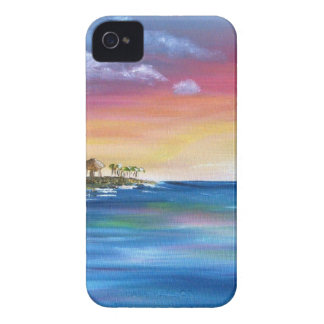 tropical paradise island iPhone 4 cover