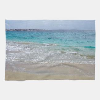 tropical paradise kitchen towel