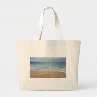 tropical paradise large tote bag