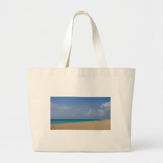 tropical paradise large tote bag