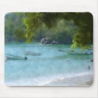 Tropical Paradise Mouse Pad