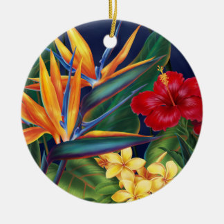 Tropical Paradise Ornaments