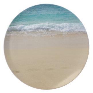 tropical paradise plates
