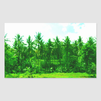 Tropical Paradise Sticker