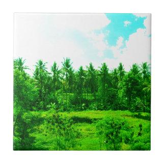 Tropical Paradise Tile