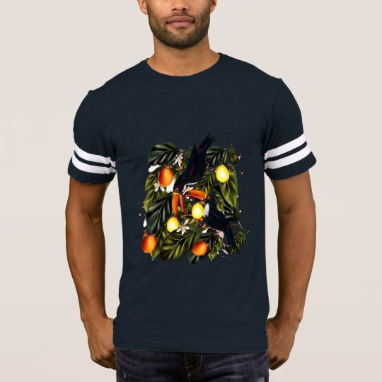 Tropical paradise. Toucans and citrus T-Shirt