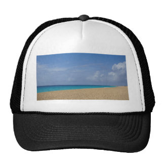 tropical paradise trucker hat