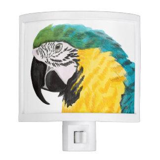 Tropical Parrot Bird Nite Lights
