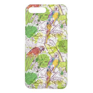 Tropical Parrots iPhone 7 Plus Case