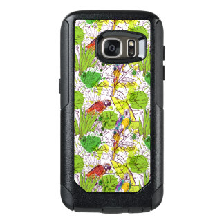 Tropical Parrots OtterBox Samsung Galaxy S7 Case