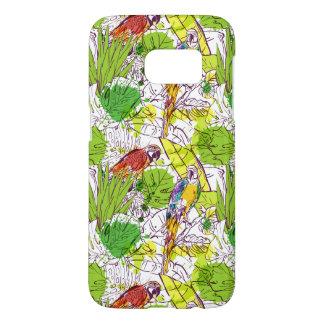 Tropical Parrots Samsung Galaxy S7 Case