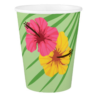 Tropical Party Cup Paper Cup