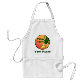 Tropical Party Food Apron
