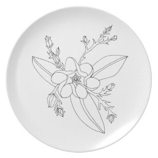 Tropical Party Plates