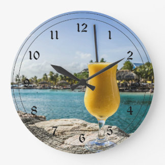 Tropical Passion Fruit Drink Wallclocks