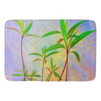 Tropical Pastel Bathroom Mat
