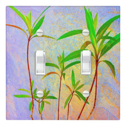 Tropical Pastel Light Switch Cover