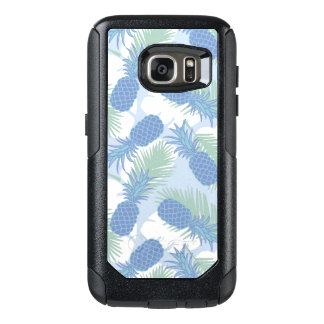 Tropical Pastel Pineapple Pattern OtterBox Samsung Galaxy S7 Case