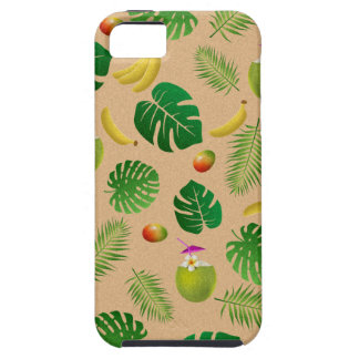Tropical pattern iPhone 5 cases