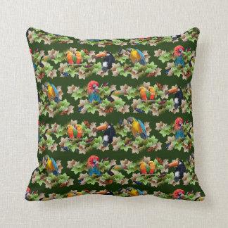 Tropical Pillow (Dark Green)