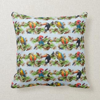 Tropical Pillow (Light Blue)