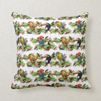 Tropical Pillow (White)