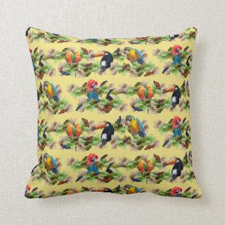 Tropical Pillow (Yellow)