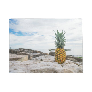 Tropical Pineapple at the Beach Doormat