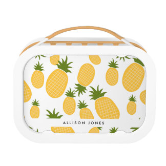 Tropical Pineapple Back to School Lunch Lunch Boxes