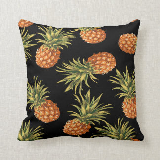 Tropical Pineapple Decorative Throw Pillow