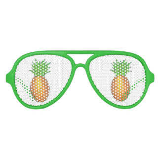 Tropical Pineapple Fruit Fruity Party Favor Shades Party Shades