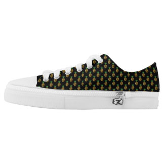 Tropical Pineapple Low Top Shoes