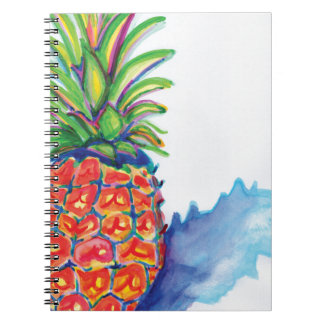 Tropical Pineapple Notebooks