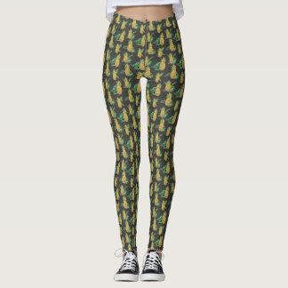Tropical Pineapple print Leggings