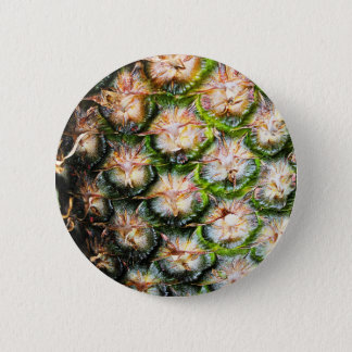 Tropical Pineapple Punch Texture 2 Inch Round Button