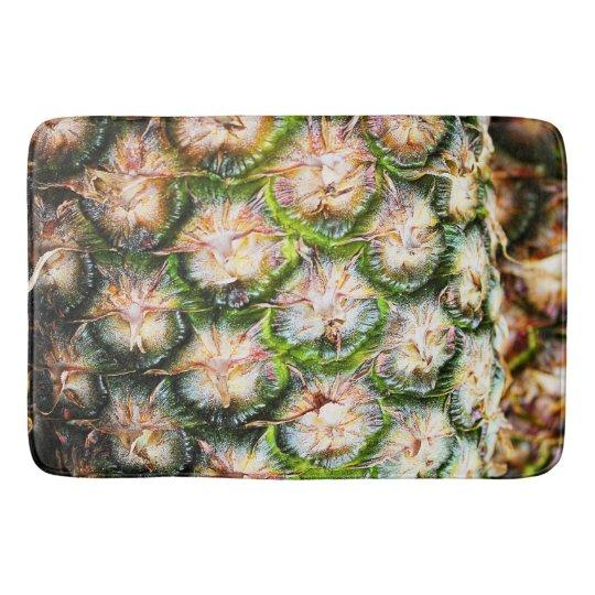 Tropical Pineapple Punch Texture Bathroom Mat
