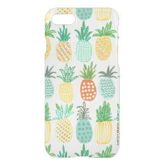 Tropical Pineapple Summer   iPhone 7 Clear Case