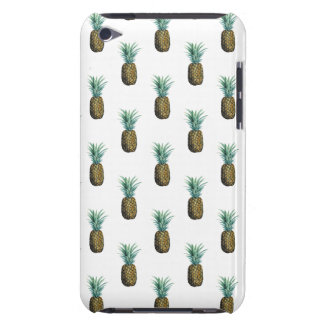 Tropical Pineapple Watercolor Barely There iPod Cover