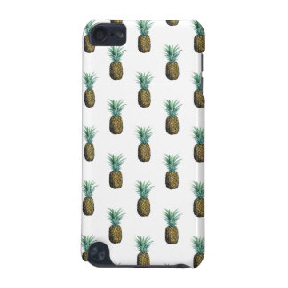 Tropical Pineapple Watercolor iPod Touch (5th Generation) Cases
